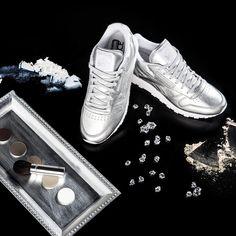 f289025b778ecb Reebok x FACE Stockholm Classic Leather Spirit (silber) - 43einhalb Sneaker  Store Fulda Reebok