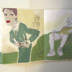 Julia Rothman, sketchbook series.