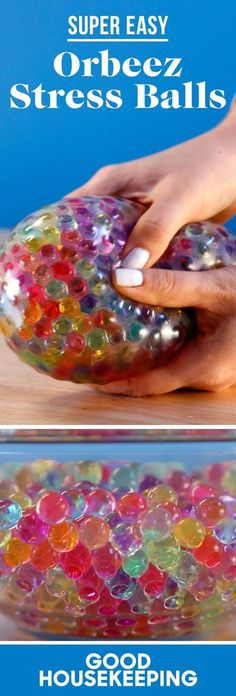 This DIY Orbeez Stress Ball Might Be the Squishiest Thing on the Planet - http://GoodHousekeeping.com