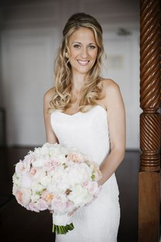 I'm swooning big-time over the wildly gorgeous florals Flowers by Semia created for this Newport wedding, and amazingly enough, they were just one small piece of the stunning puzzle! Add on the breathtaking Harbour Court venue, the bride's chic Anna Maier Ulla-Maija Couture gown and a custom groom's suit by Michael Andrews Bespoke, and we've […]