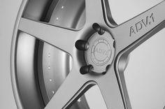 ADV5DC Deep Concave Wheels in Brushed Matte Gunmetal