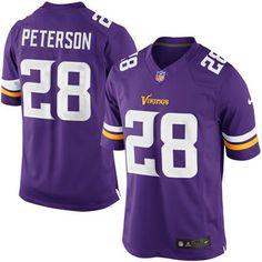 7d1b34d98 Adrian Peterson Minnesota Vikings Nike Team Color Limited Jersey - Purple  Minnesota Vikings