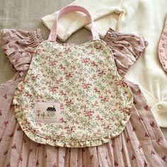 ruffle baby bib, by nanaCompany, via Flickr