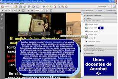 Seminario sobre usos docentes de Acrobat y los archivos PDF en 8 fichas (3 de 8)