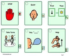 visuals for autism printables - Google Search