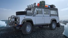 Land Rover Defender Expedition--Love it!  Want one!