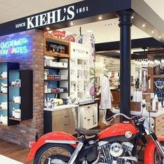 Putting healthy skin on every corner. Kiehl's Since 1851, Ipod Nano, Kiehls, Natural Skin Care, Healthy Skin, Anti Aging, Corner, Motorcycle, Face