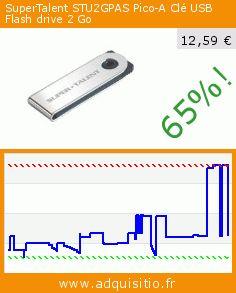 SuperTalent STU2GPAS Pico-A Clé USB Flash drive 2 Go (Personal Computers). Réduction de 65%! Prix actuel 12,59 €, l'ancien prix était de 35,89 €. http://www.adquisitio.fr/supertalent/stu2gpas-pico-a-cl%C3%A9-usb