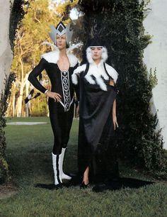 #Elfquest costumes: Winnowill and Kureel! #cosplay www.elfquest.com