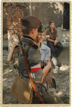 Explore foreigner2009's photos on Flickr. foreigner2009 has uploaded 3274 photos to Flickr. Poland Ww2, Germany Ww2, Warsaw Poland, Warsaw Ghetto Uprising, German Soldiers Ww2, Military Couples, War Photography, Women In History, Military History