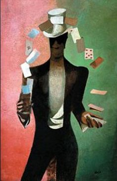 Frantisek Tichy Card Trick Archival Quality Art Print Suitable for Framing Art Prints For Sale, Wall Art Prints, Poster Prints, Oil Painting On Canvas, Painting & Drawing, Card Tricks, Modern Artists, Affordable Art, Home Decor Wall Art