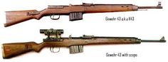 German G43 Wwii K43 Sniper Rifle With Correct Scope In 8 X