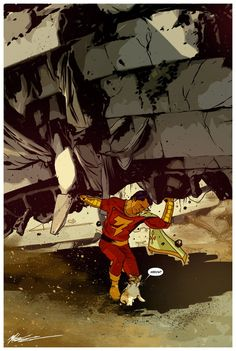 Captain Marvel by Mitch Gerads