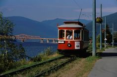 Streetcar operated in Nelson, BC from 1924 to 1949. And, it's in operation again today. Photo by Don Weixl.