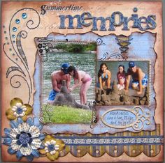 pinterest scapbook layouts - Bing Images