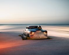 New York based photographer Brad Harris created this spectaculair series during the « World Speed Trials Social Photography, Automotive Photography, Beach Photography, Photography Blogs, Flaunt Magazine, Cars Land, Race Cars, Cafe Racer Build, New York