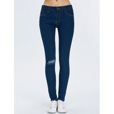 GET $50 NOW | Join Dresslily: Get YOUR $50 NOW!http://m.dresslily.com/ripped-high-waist-pencil-jeans-product1890531-html-product1890531.html?seid=90CIr01nfrvMM4Udtd76Q75ddC