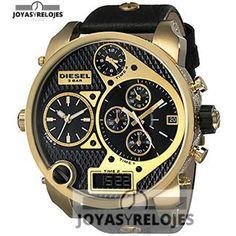 ⬆️😍✅ Diesel DZ7323 😍⬆️✅ Increíble Modelo perteneciente a la Colección de RELOJES DIESEL ➡️ PRECIO 329 € Lo puedes comprar en 😍 https://www.joyasyrelojesonline.es/producto/diesel-dz7323-reloj-para-hombres-correa-de-cuero-color-negro/ 😍 ¡¡Ofertas Limitadas!! #Relojes #RelojesDiesel #Diesel