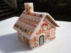 Wendy's quilts and more: My Gingerbread Village
