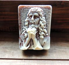 JESUS SOAP Jesus Praying in the Garden Colored by thecharmingfrog