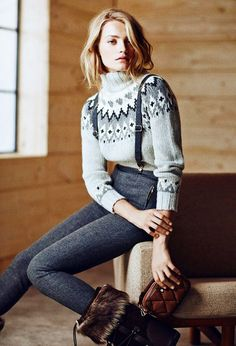 Your Complete Style Guide to Après Ski via @WhoWhatWearUK