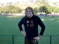 Main training center of Clube Atlético Mineiro - Brazil City Rooster Toninho Horta in visit