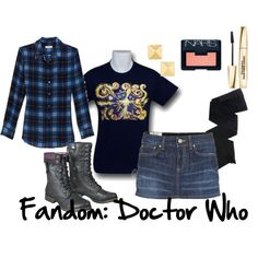 """""""Fandom Shirt: Doctor Who"""" by alexis-cece on Polyvore"""