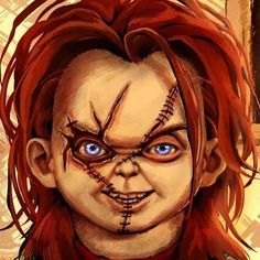 Also a close-up of Chucky's face from my last...
