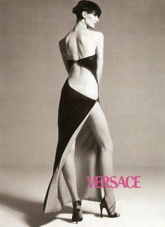 Richard Avedon -- Erin O'Connor-Versace, Spring Summer 1998