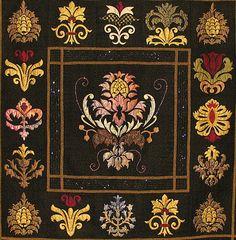 Renaissance - William Morris motifs, applique quilt
