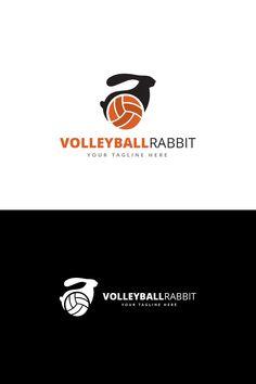 Volleyball Rabbit Logo Template #Logo #Rabbit #Volleyball #Template Typography Logo, Logos, Logo Rabbit, Volleyball Clubs, Geometric Logo, Sports Logo, Logo Templates, Wordpress Theme, Design Bundles