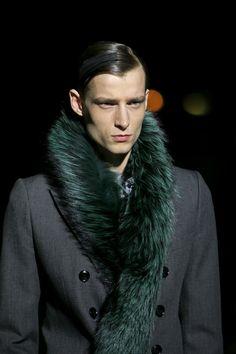 Dries Van Noten   Fall 2014 Menswear Collection.