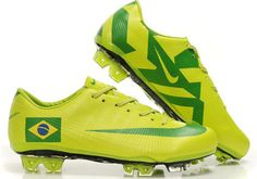 Soccer Cleats Nike | Nike Mercurial Vapor Superfly III FG Soccer Cleats Yellow Green Brazil