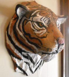 Paper Mache Tiger                                                                                                                                                      More