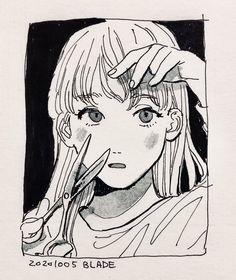 Art Drawings Sketches, Cool Drawings, Sketch Art, Pretty Art, Cute Art, Manga Art, Anime Art, Arte Peculiar, Poses References