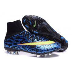 sports shoes ead09 b3778 бутсы Nike Mercurial Superfly 4 FG МУЖСКАЯ синий желтый