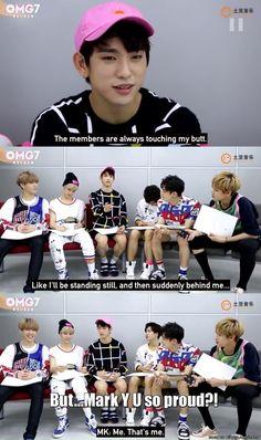 Even the members can't resist Junior >////<