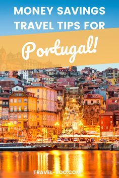 Visiting Portugal? Then don't miss these Portugal Travel tips including the Best Money Savings Tips. Plan your perfect Portugal Travel Itinerary on a budget. Portugal Travel, Portugal Travel Guide, Portugal Travel Tips, Portugal Itinerary #portugaltravel #portugal #portugaltravelguide Portugal Vacation, Portugal Travel Guide, Europe Travel Guide, Spain Travel, Thailand Travel, Travel Guides, Travel Destinations, Portugal Places To Visit, Portugal Holidays