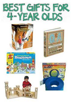 Recommendations of the Best Gifts for 4-Year-Olds - ResearchParent.com
