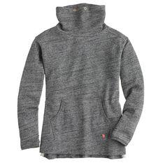 J.Crew - Girls' cowlneck fleece pullover