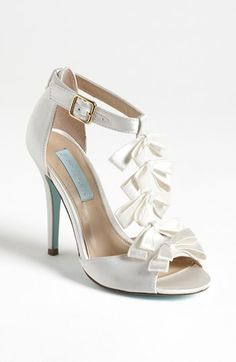 Blue by Betsey Johnson 'Knot' Sandal available at #Nordstrom $99.95 LOVE THIS SHOE FOR A WEDDING!