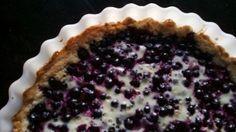 Leivontaa rakkaudella: Jotain nopeaa, helppoa ja kevyttä: Jogurtti-mustikkapiirakka