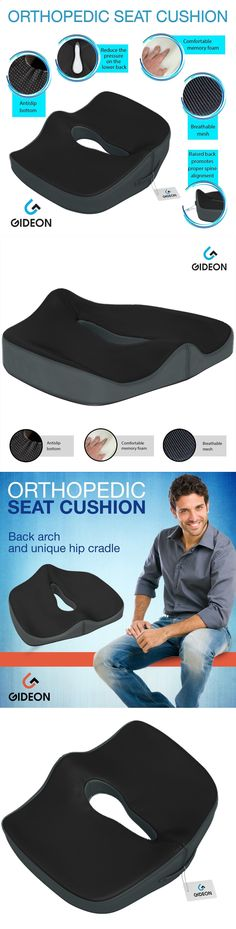 Other Orthopedic Products: Coccyx Car Chair Seat Cushion Pillow For Sciatica Prostate Hemorrhoid Tailbone BUY IT NOW ONLY: $31.03