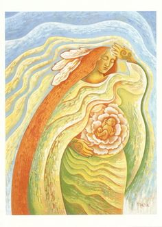 Images de l'esprit, l'autonomisation des femmes, honorant Féminin Sacré Imaginez potentiel infini (A)
