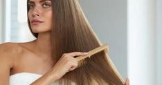 Growing your hair out can be a frustrating experience. But, by altering your normal hair care routine and using various hair growth techniques, you can make the process a little bit quicker. Foods For Healthy Skin, Healthy Hair Tips, Stay Healthy, Hair Care Routine, Hair Care Tips, Greasy Hair Hairstyles, Cool Hairstyles, Aorta Abdominal, Ayurvedic Hair Oil