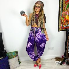 "Amy Hallimond✨ on Instagram: "" Stuck for Halloween?  What about a Demented Fortune Teller? ✨ Head over to my blog >> www.iwearmyownstyle.com for more on this look!"""