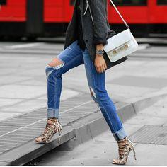 street_style_paris sur Instagram : Via @manhattan_fashion_styles