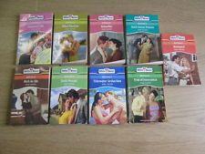 9 x Anne Mather Mills & Boon Romance Novels: TITLES: 1. Rich As Sin; 2. Dark Mos