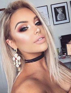 glam makeup looks; makeup looks for brown eyes; simple makeup looks. glam makeup looks; makeup looks for brown eyes; simple makeup looks. Glam Makeup Look, Gold Makeup, Gorgeous Makeup, Amazing Makeup, Pastel Makeup, Dead Gorgeous, Glamorous Makeup, Makeup Looks For Brown Eyes, Simple Makeup Looks