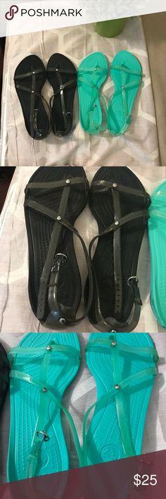 Bundle Crocs jellies Size 10 CROCS Shoes Sandals